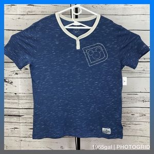 Disney Parks NWT Medium Henley 2018 Shirt